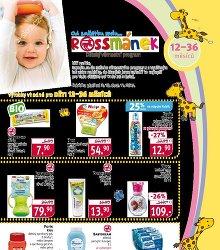 Akční leták Rossmánek leták - pro děti 12 - 36 měsíců
