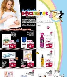 Akční leták Rossmánek leták - pro těhotné