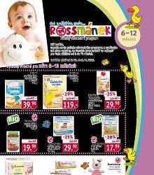 Akční leták Rossmánek leták - pro děti 6 - 12 měsíců