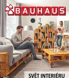 Akční leták BAUHAUS - Svět interiéru