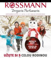 Akční leták Rossmann magazín