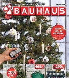 Akční leták BAUHAUS - Katalog Prosinec 2017