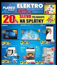 Akční leták Planeo Elektro - platnost od 17.1. do 23.1.